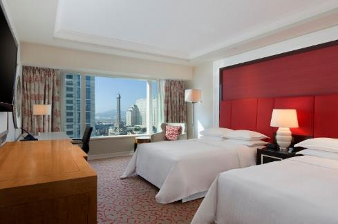 P:\Sales_and_Marketing\PR\Sheraton Macao Hotel, Cotai Central\Press Release\Sheraton Macao Hotel, Cotai Central\Awards\CONDÉ NAST READERS' CHOICE AWARDS\Photo\Low Res\Deluxe Twin Room.jpg